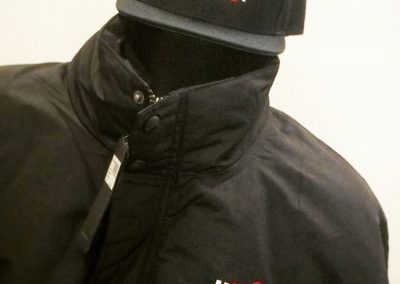 Embroidery is the best choice for hats and outerwear.
